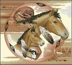 Превью Tribal_Ponies (471x426, 268Kb)