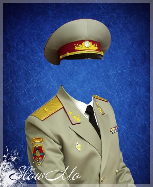 SlowMo, Photoshop, Templates, Costumes, PSD, Исходники, Шаблоны, Костюмы, Наряды, Фотомонтаж, Фотошаблоны, Фотокостюмы, Генерал, Форма, Ордена, Медали, Генерал-майор, Военный, Офицер, Звание, Генеральская форма, Офицерская форма, парадная форма, Военная форма/1335371799_General (500x609, 119Kb)