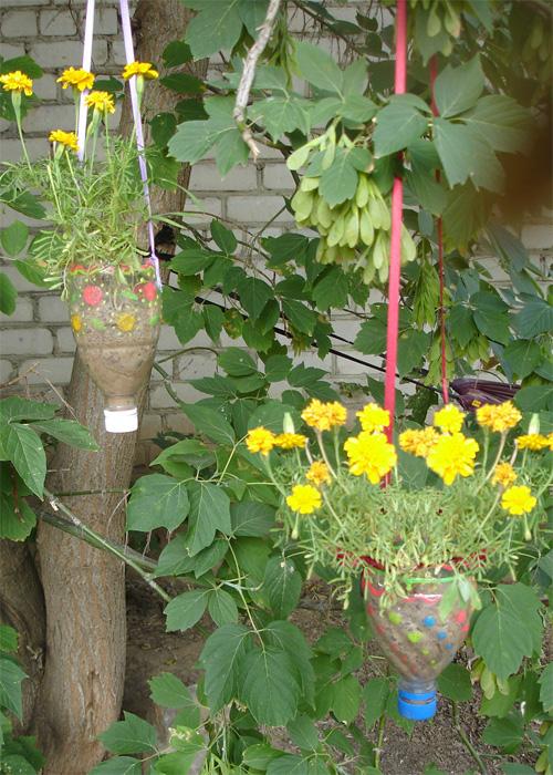 Украшаем свой сад своими руками фото
