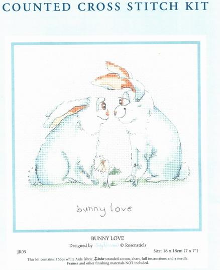 Влюбленные кролики.
