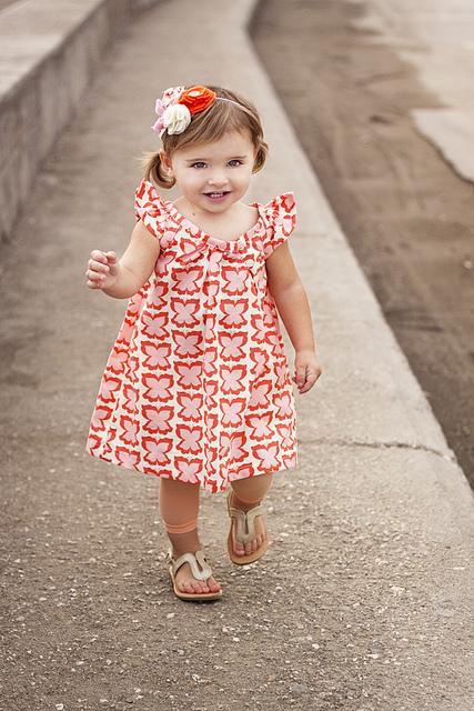 Как сшить платье летнее детской