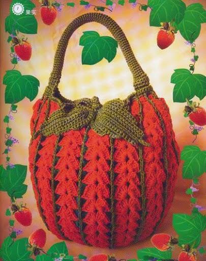 вязание сумки из атласных лент мастер класс.