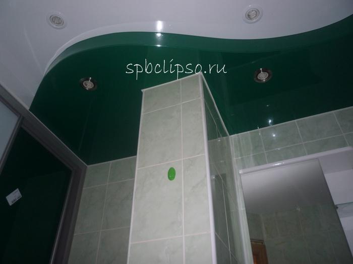 натяжной потолок в ванной комнате (700x525, 71Kb)