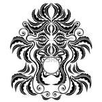 Превью 9656719-trible-spirit-demon-face-silhouette-symbol (400x400, 51Kb)