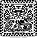 Превью stock-vector-vector-aztec-tribal-pattern-in-black-and-white-33980560 (450x470, 107Kb)