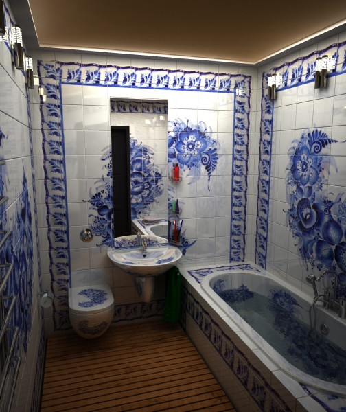 Панно в ванной комнате дизайн фото