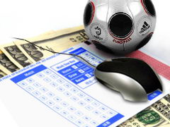 Заработок на онлайн-ставках в букмекерских конторах.