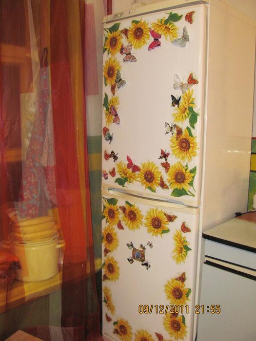 Как отреставрировать холодильник своими руками