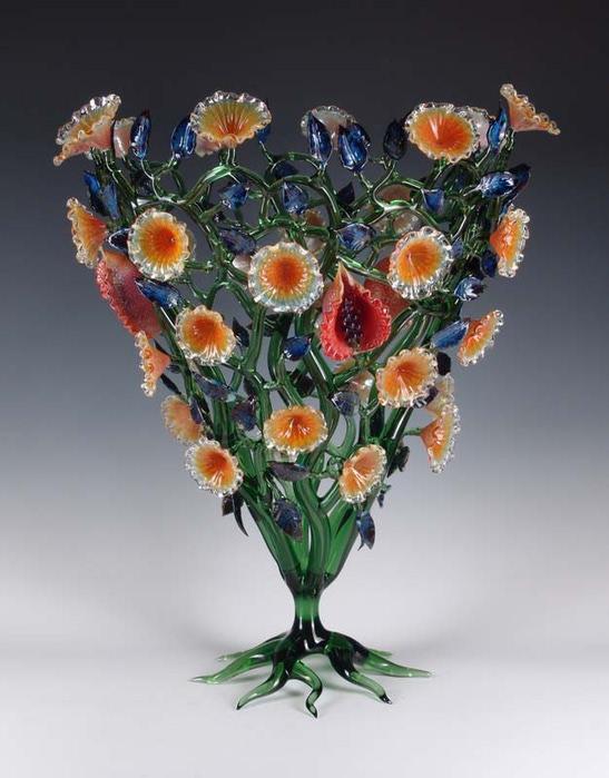 цветы из стекла!!! (547x700, 87Kb)