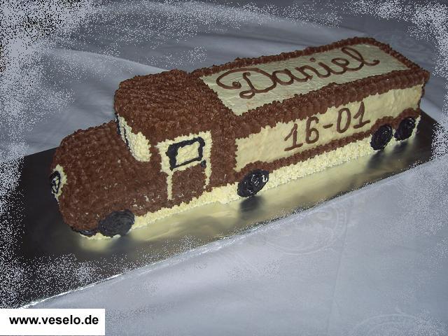 Детский торт машинка своими руками