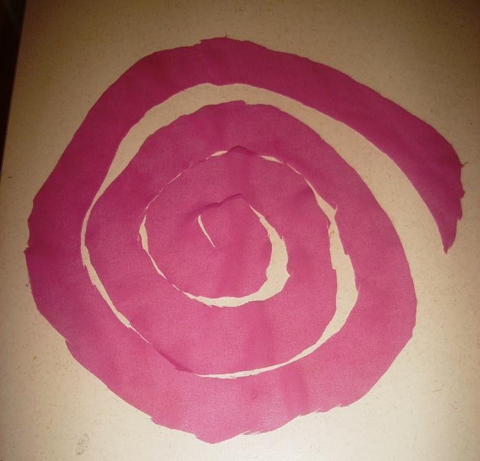 Цветок спиралью своими руками 143