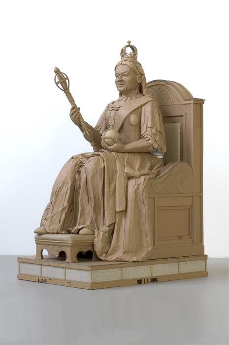 скульптуры из картона 13 (465x700, 47Kb)