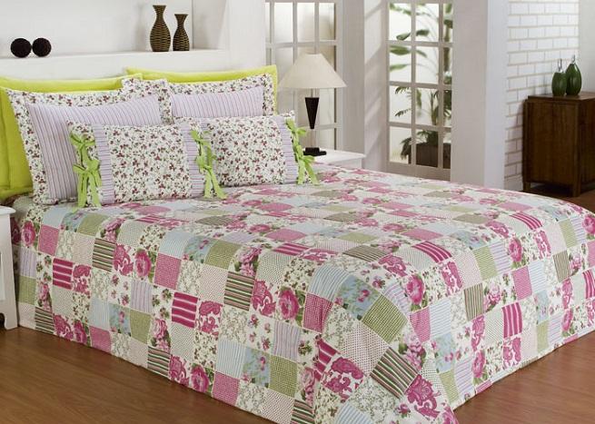 Пэчворк покрывало на кровать своими.  Вышивка, Пэчворк, Шитьё: Покрывала.