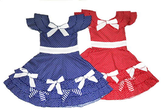 Простые платья для детей