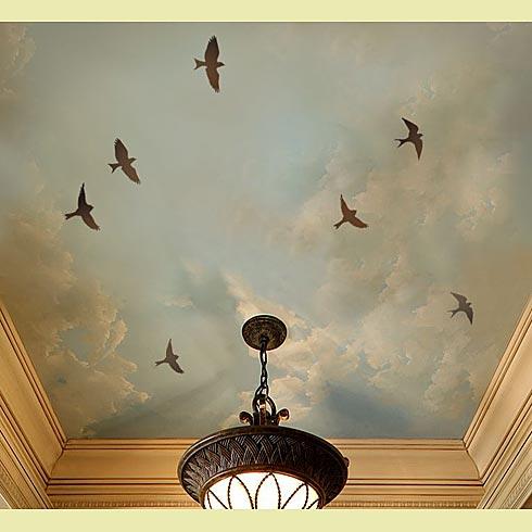 обои на стену с птицами: