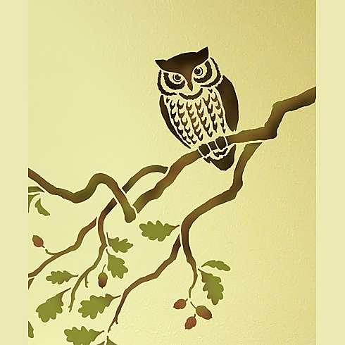 Owl-bird-stencil (490x490, 24Kb)