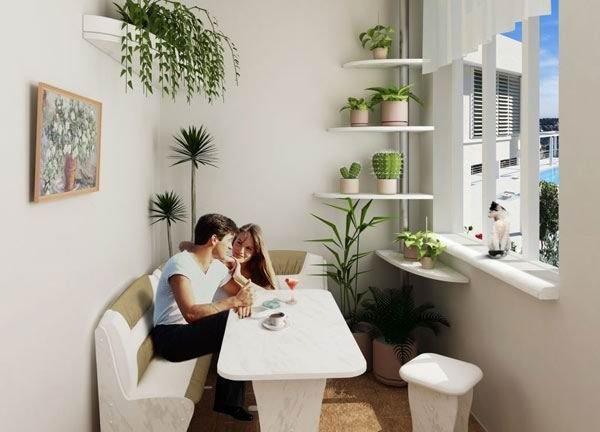 Идеи отделки балкона