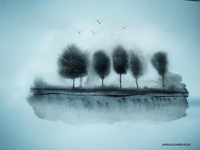эскизы природы: