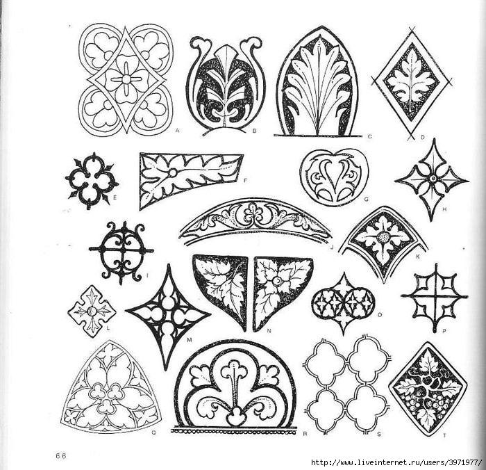 4000 motifs de fleurs et de plantes (54) (700x676, 277Kb)