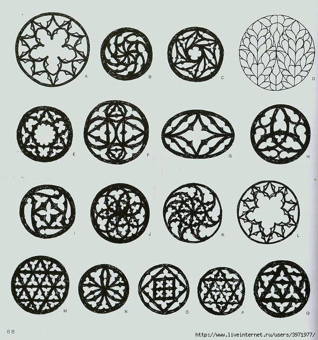4000 motifs de fleurs et de plantes (56) (653x700, 322Kb)