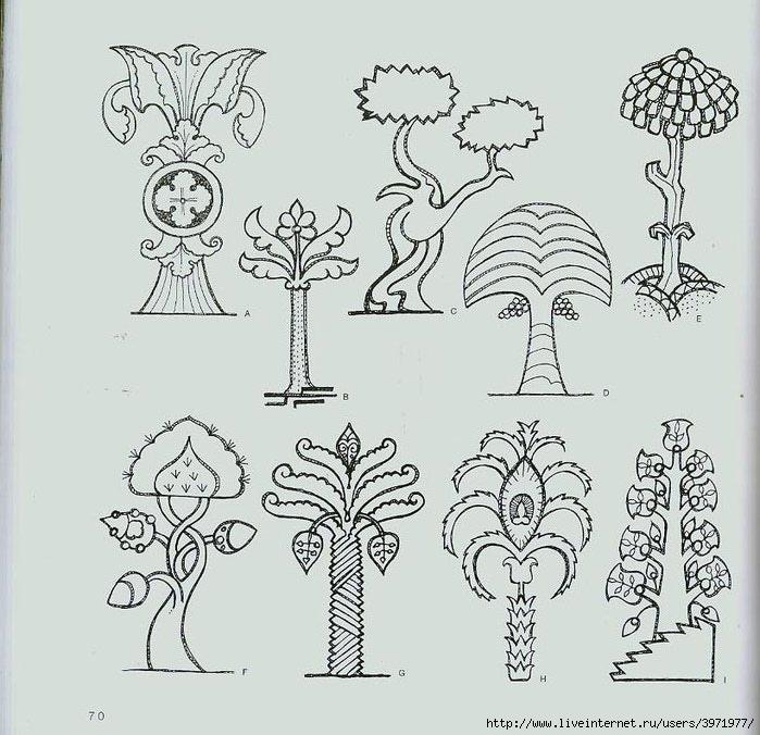 4000 motifs de fleurs et de plantes (58) (700x676, 240Kb)