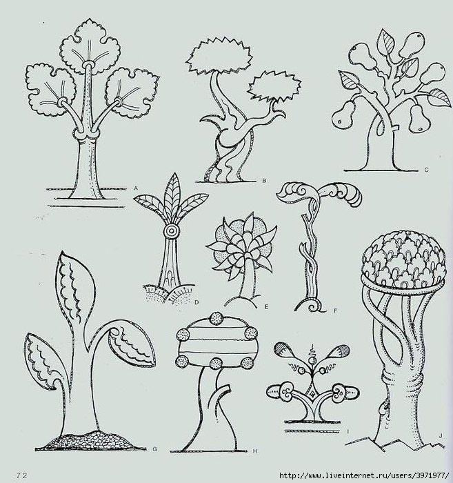 4000 motifs de fleurs et de plantes (60) (657x700, 245Kb)