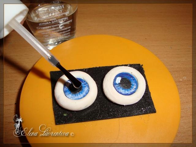 Глаза для кукол своими руками 66