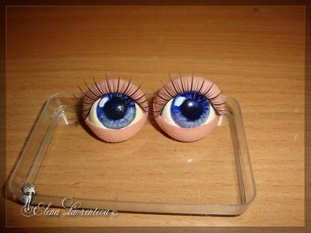 Глазки у кукол своими руками 174