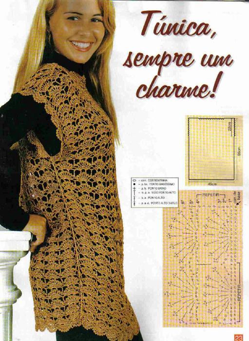Colecao Artesanato Pratico e Facil - Trico & Croche A1 N8 (33) - 21 (511x700, 489Kb)