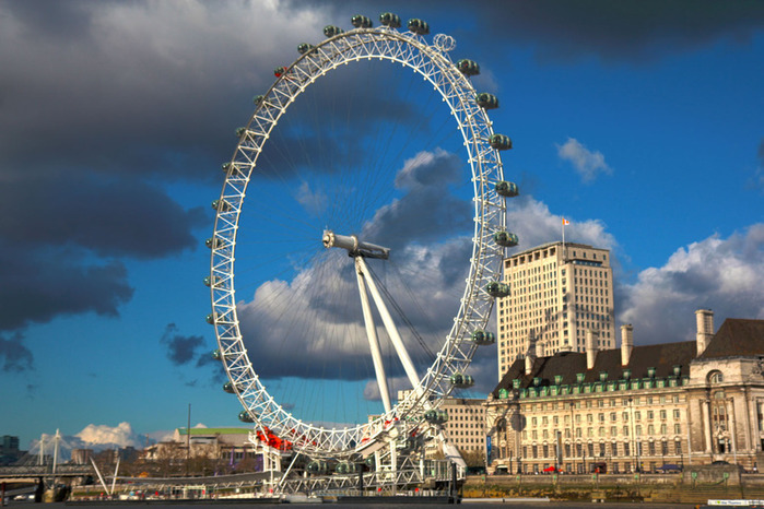 London EYE HDR (700x466, 132Kb)