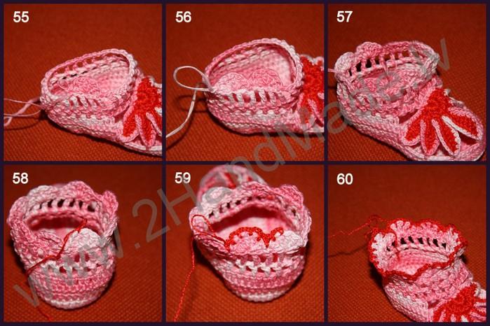 Вязание крючком разных узоров