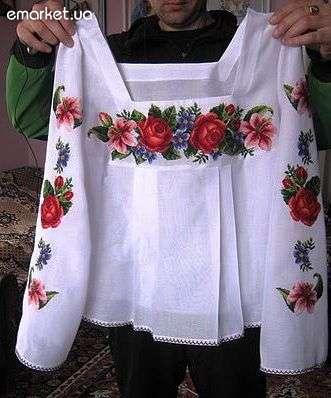 Украинские женские вышиванки.