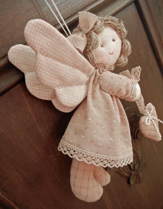Кукла ангелочка своими руками