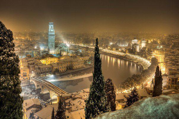 Верона — город на северо-востоке Италии, в регионе Венето (604x402, 56Kb)