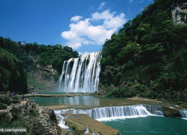 Водопад Хуангошу, провинция Гуйчжоу, Китай (604x436, 62Kb)