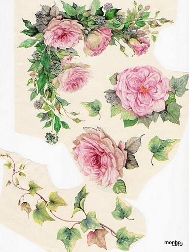Rosas e heras (383x512, 80Kb)