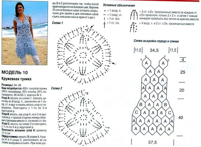 Вязание крючком для всей семьи схемы и описание 99