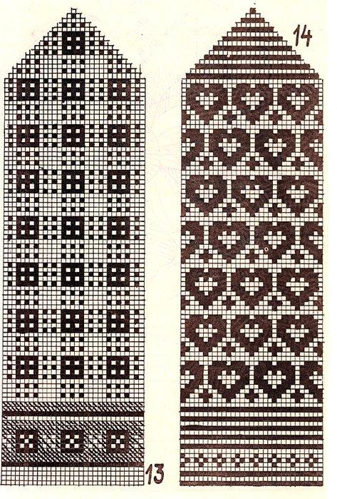 Варежки схемы 09 (473x700, 142Kb)