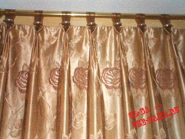 как правильно шить шторы из ткани