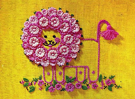 钩针:编花器花型的应用 - maomao - 我随心动