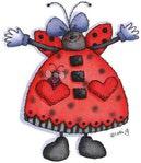 Превью Ladybug%252520Girl (277x320, 18Kb)