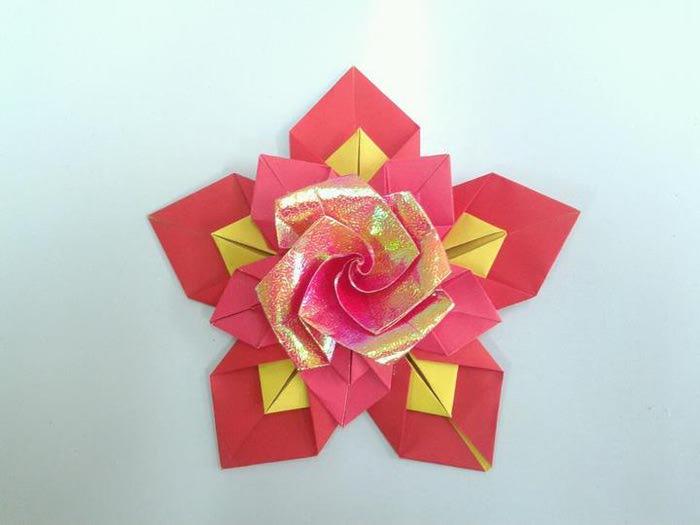 Бисероплетение поделки из роз