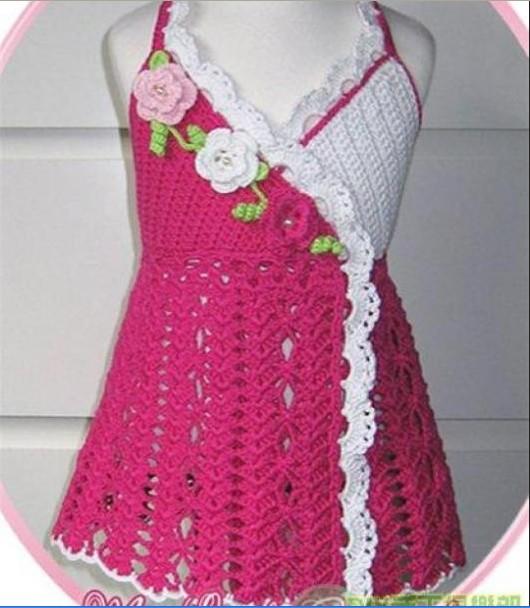 Сарафан крючком на бретелях ,украшенный цветочками для девочки/4683827_20120501_194327 (530x608, 75Kb)