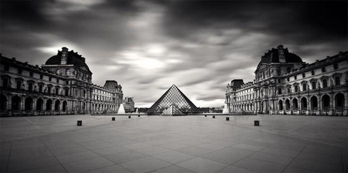 Черно-белые фото парижа Damien Vassart 23 (700x349, 49Kb)