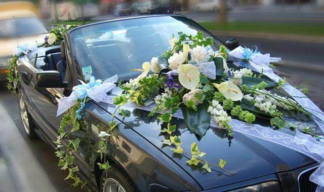 Заказать машину на свадьбу в СПБ