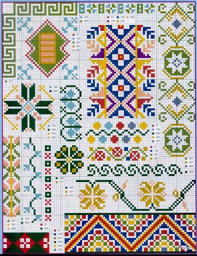 punto croce 375 motifs (14) (394x512, 158Kb)