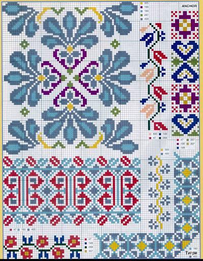 punto croce 375 motifs (18) (399x512, 145Kb)