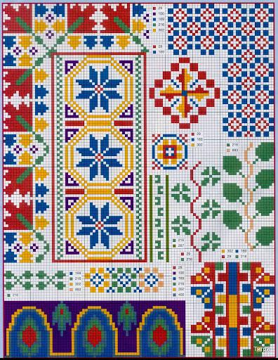 punto croce 375 motifs (21) (396x512, 165Kb)