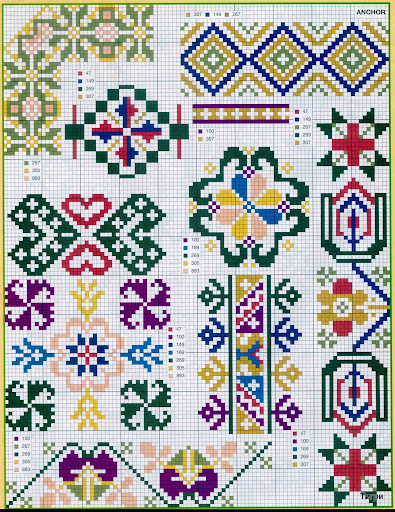 punto croce 375 motifs (29) (395x512, 148Kb)