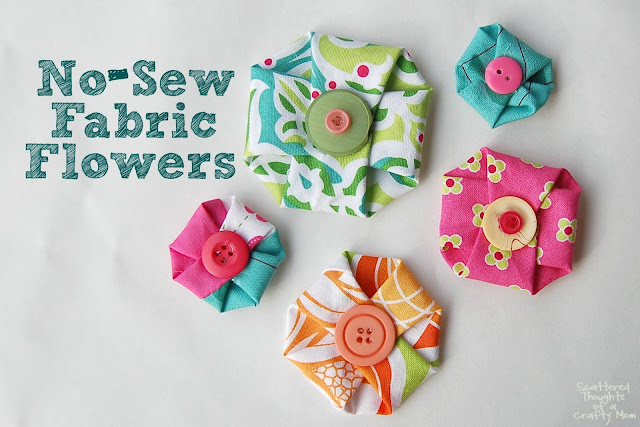 No sew fabric flowers-1small (640x427, 90Kb)